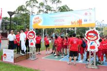 Eunos walks in support of Singapore National Games 2012