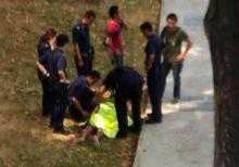 TNP: Naked man nabbed after Bedok Reservoir Road chase