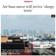Eunos residents to benefit from moving of Paya Lebar Air Base