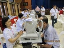 Lions World Sight Day @ Eunos provides free eye screening for 600