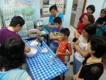 Eunos Heights residents bond through international food