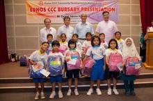 New Schoolbags for Eunos CCC Bursary Recipients