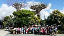 Eunos Residents visit Singapore Garden Festival 2016