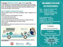 Mammogram Screening @ Eunos