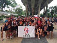 Bling Bling Weekend for Eunos CSC Dragonboat team!