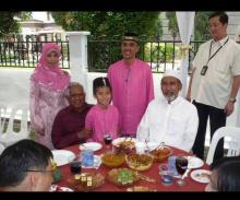 Encik Zainul Abidin Rasheed delivers eulogy for Mr S R Nathan