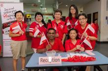 SGCommunityWalk as one United Singapore