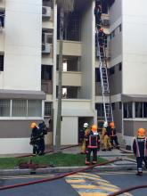 Fire breaks out at Blk 138 Bedok Reservoir Road